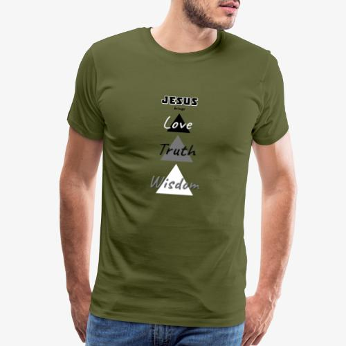 Love Truth Wisdom - Men's Premium T-Shirt