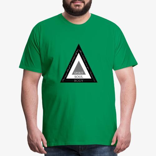 Spirit Soul Body - Men's Premium T-Shirt