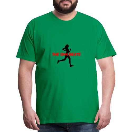 THE GYM BEATS - Music for Sports - Men's Premium T-Shirt