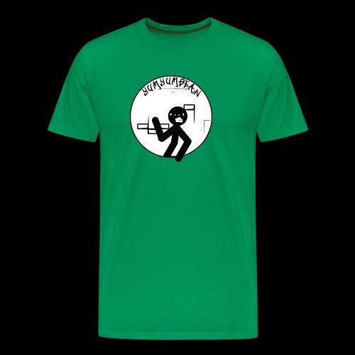 yumyumbean graffiti wall logo - Men's Premium T-Shirt