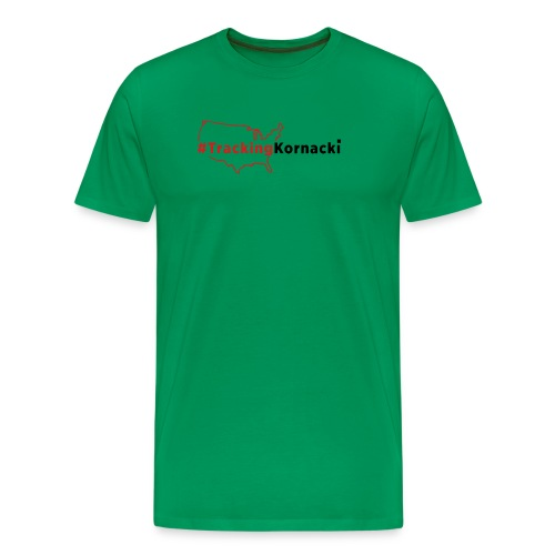 Tracking kornacki Dad - Men's Premium T-Shirt