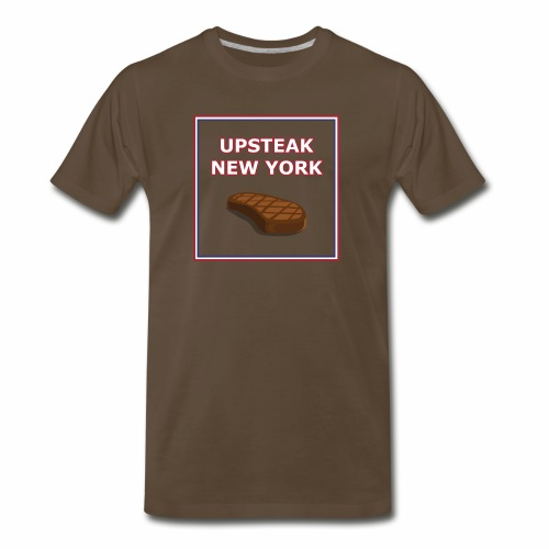 Upsteak New York | July 4 Edition - Men's Premium T-Shirt