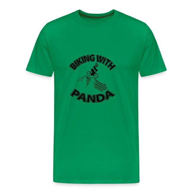 Biking with Panda