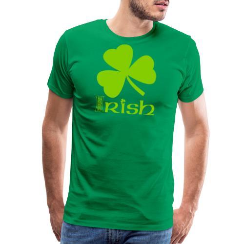 Shamrock Irish Vector - Men's Premium T-Shirt
