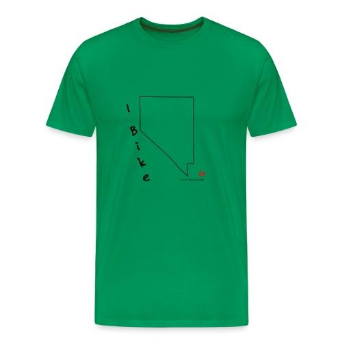 I Bike NV - Men's Premium T-Shirt