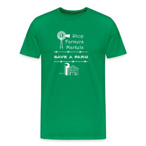 farmers market - Men's Premium T-Shirt