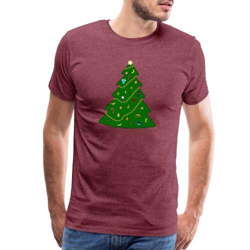 Christmas Tree For Monkey - Men's Premium T-Shirt