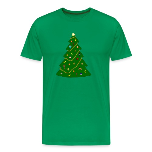 Christmas Tree For Monkey - Men's Premium T-Shirt