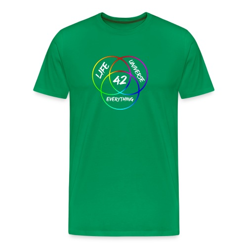 42 The Answer to Life merch - Men's Premium T-Shirt