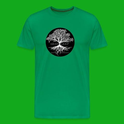 Greenleaf Wear Black logo - Men's Premium T-Shirt
