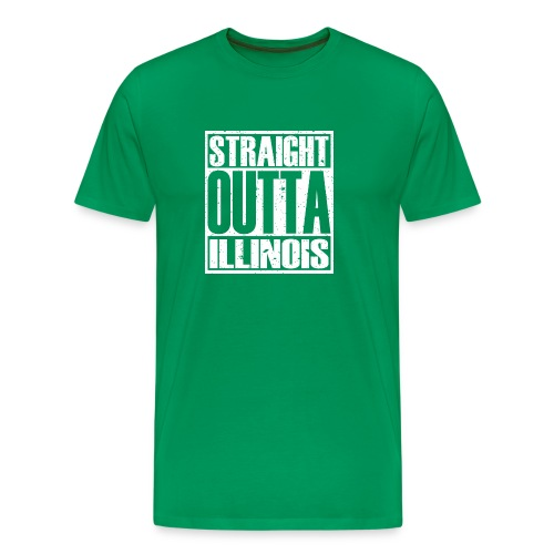 Straight Outta Illinois - Men's Premium T-Shirt