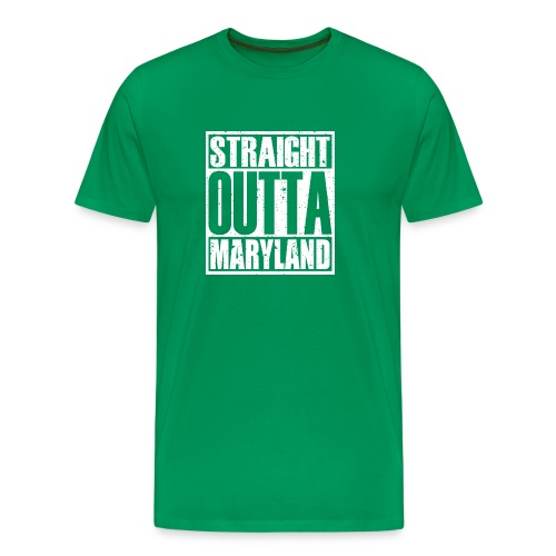 Straight Outta Maryland - Men's Premium T-Shirt