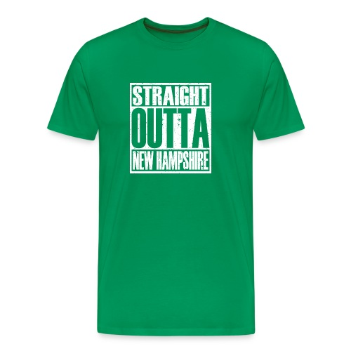 Straight Outta New Hampshire - Men's Premium T-Shirt