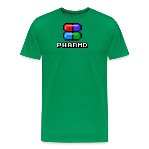 PharmD Stacked Logo - Men's Premium T-Shirt