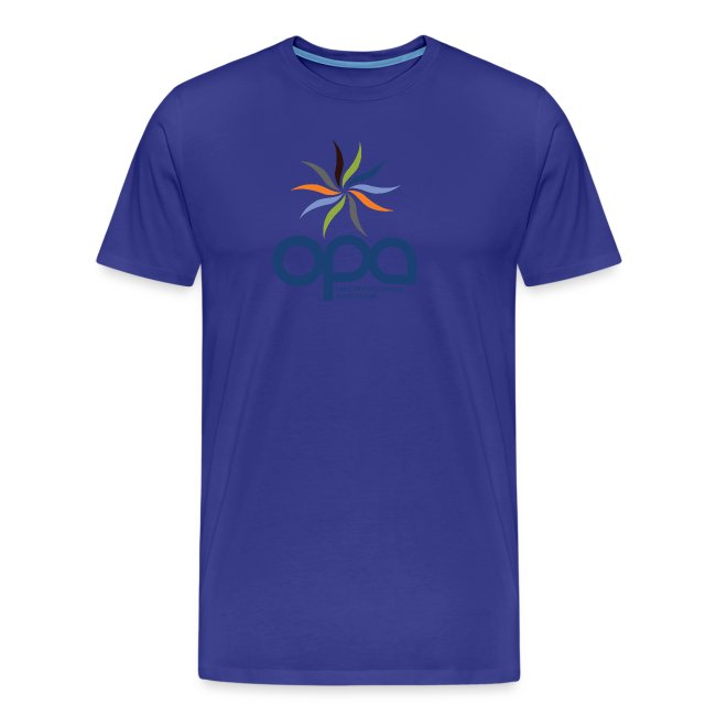 Short-sleeve t-shirt with full color OPA logo