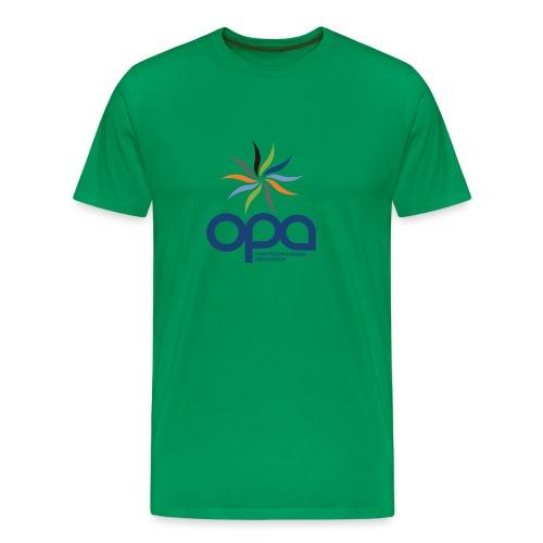 Short-sleeve t-shirt with full color OPA logo - Men's Premium T-Shirt