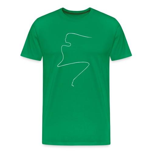 Linear Woman - Men's Premium T-Shirt