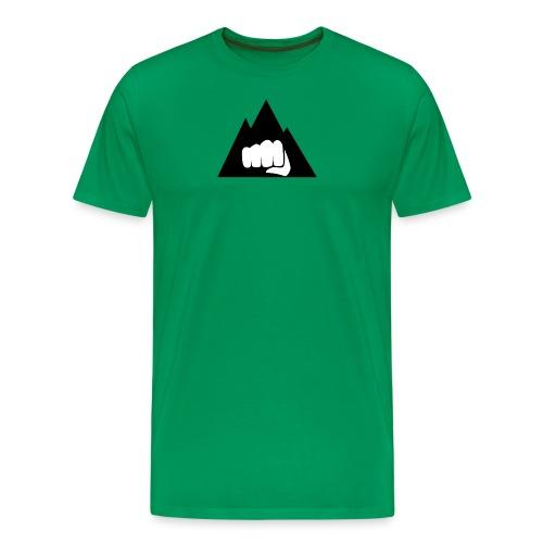 The Mountain Logo T-Shirt (L) Men's Fruit of the L - Men's Premium T-Shirt