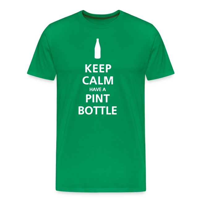 Keep Calm Pint Bottle