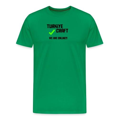 we are online boissss - Men's Premium T-Shirt