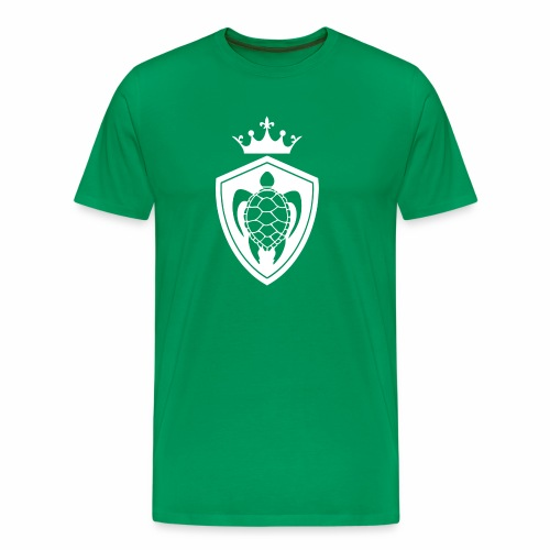 TurtleCrownWhite - Men's Premium T-Shirt
