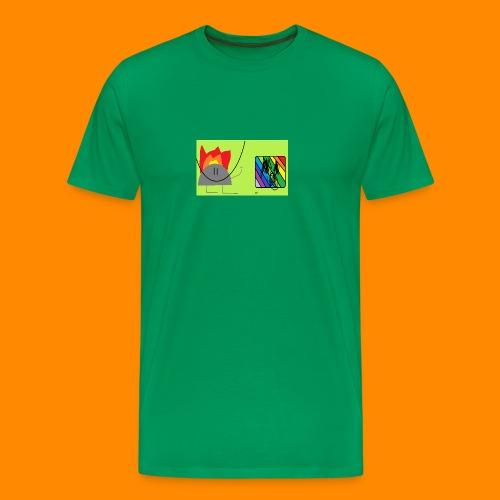 burn - Men's Premium T-Shirt