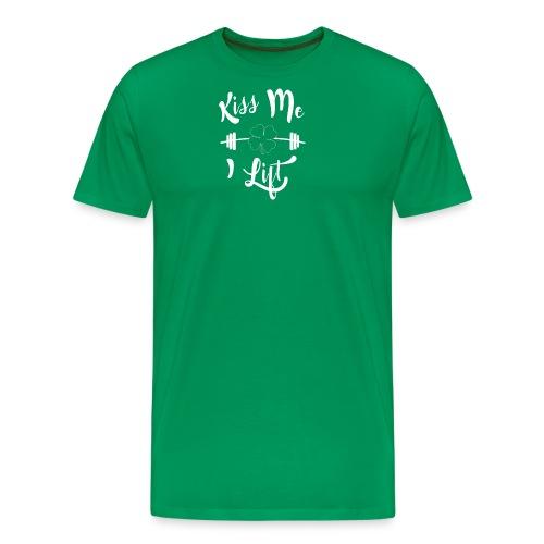 Kiss me, I lift! - Men's Premium T-Shirt