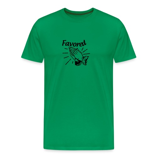 Favored - Alt. Design (Black Letters) - Men's Premium T-Shirt