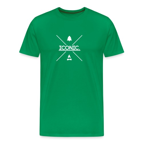 Iconic Logo V1 - Men's Premium T-Shirt