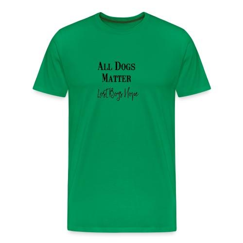 all dogs - Men's Premium T-Shirt