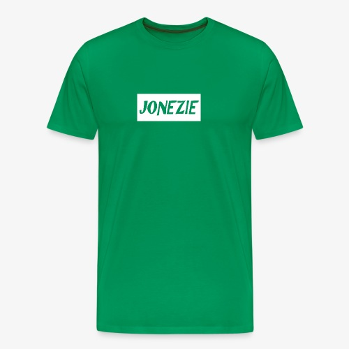JONEZIE WHITE EDITION - Men's Premium T-Shirt