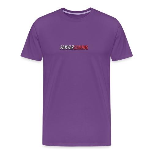 FaryazGaming Text - Men's Premium T-Shirt