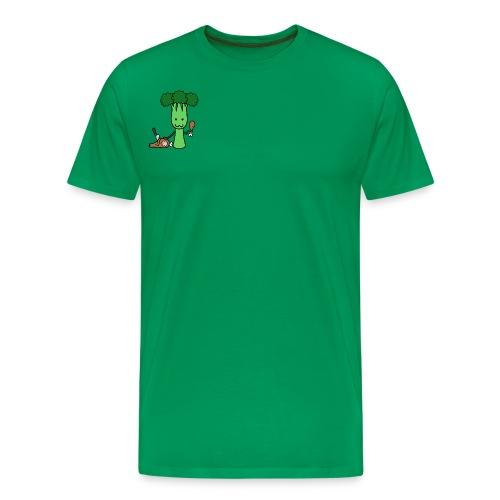 Carnivorous Broccoli - Men's Premium T-Shirt