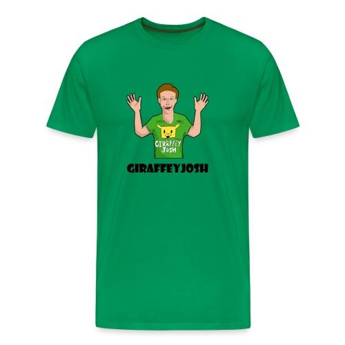 GiraffeyJosh Big Logo - Men's Premium T-Shirt