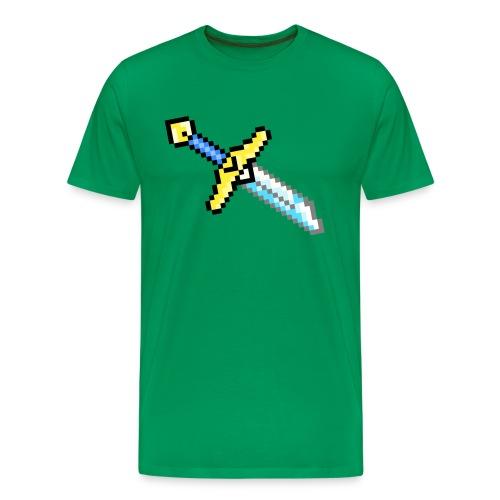 Broke Hero Sword - Men's Premium T-Shirt