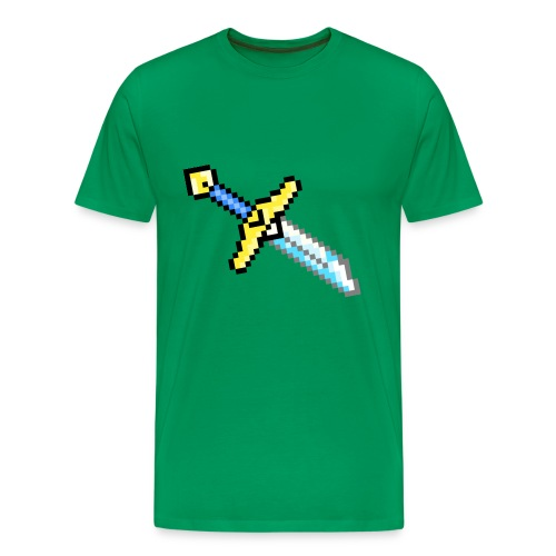 Broke Hero Sword - Men's Premium T-Shirt