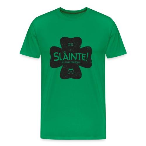 slainte front - Men's Premium T-Shirt