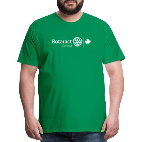 Rotaractor At Work - White - Men's Premium T-Shirt
