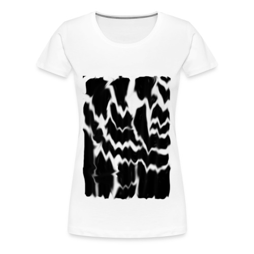 Black Smudge - Women's Premium T-Shirt