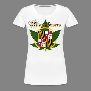Maryflowers - Women's Premium T-Shirt
