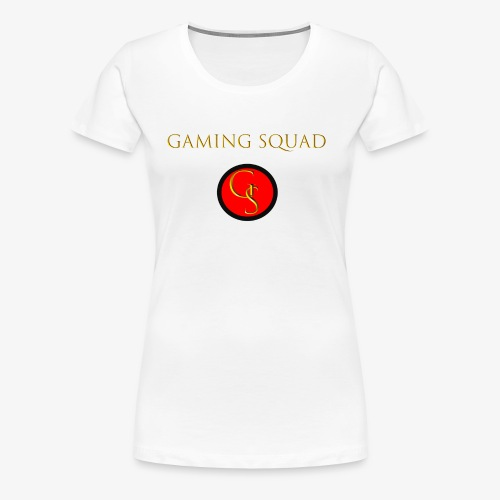 Channel Logo with Gaming Squad text - Women's Premium T-Shirt
