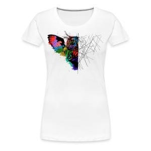 Owl desing - Women's Premium T-Shirt