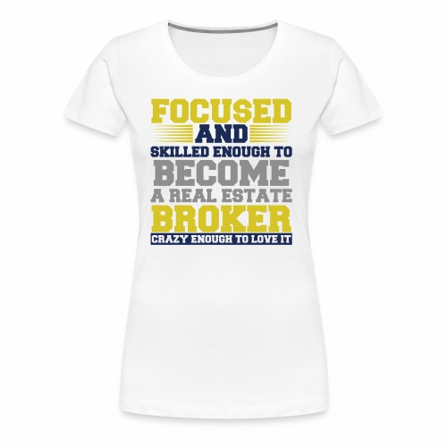 FOCU$ED - Women's Premium T-Shirt