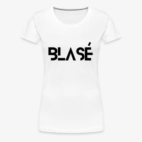 Logo Blase Negro - Women's Premium T-Shirt
