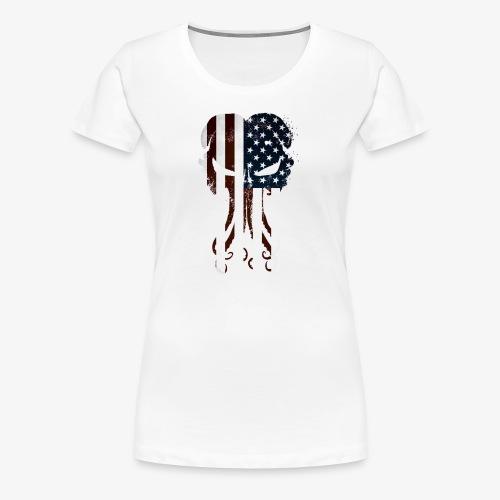 Cthulhu America Full - Women's Premium T-Shirt