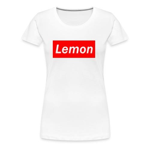 Lemon - Women's Premium T-Shirt