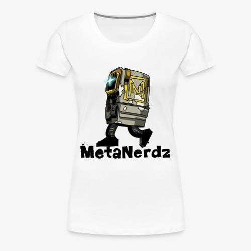 Gonk MetaNerdz Black Words - Women's Premium T-Shirt