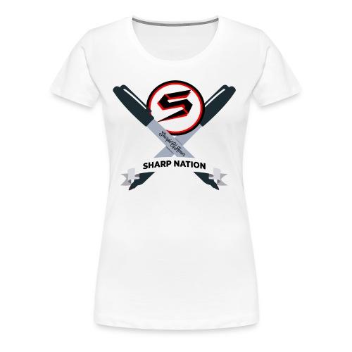 Sharp Nation Shirt - Women's Premium T-Shirt