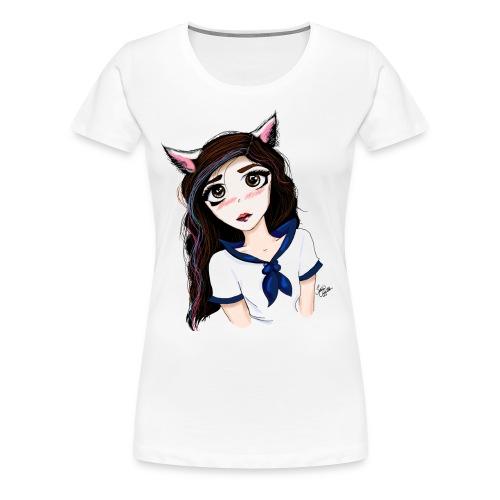 Catgirl - Women's Premium T-Shirt