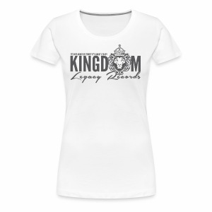 KINGDOM LEGACY RECORDS LOGO MERCHANDISE - Women's Premium T-Shirt